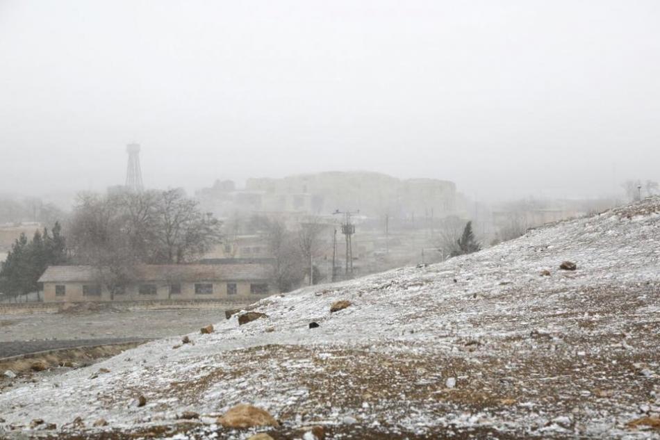 Harran Kaymakamlığımdan Yayımlanan Resul Yılmaz'ın çektiği Şanlıurfa Harran'da Kartpostallık Kar manzaraları