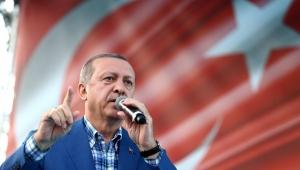 Cumhurbaşkanı Erdoğan:Hainler Akıttığı kanda boğulacak