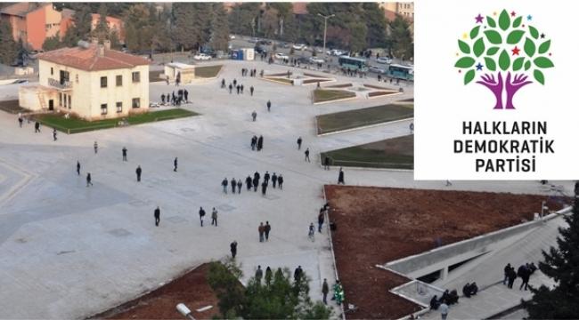 HDP'nin Urfa'da yapacağı Miting yasaklandı