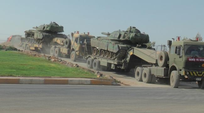 Şanlıurfa'dan Karkamış'a askeri sevkıyat gerçekleşti