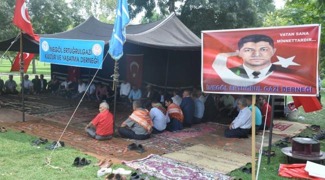Urfa folklor ekibi Ertuğrul Gazi'yi Anma Şenliklerinde