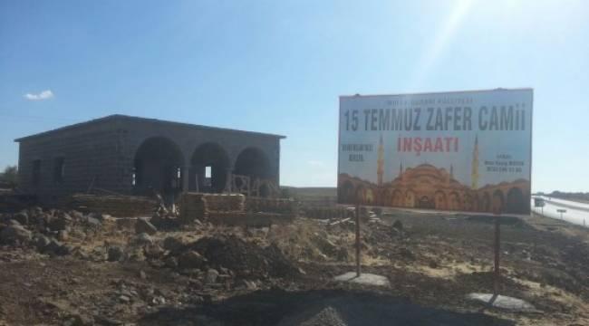 15 Temmuz Zafer Camisi'nin inşaatına başlandı