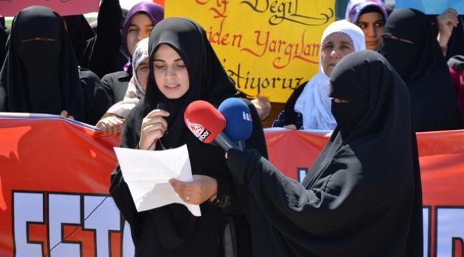 28 Şubat Mağdurları Af değil,yeniden yargılama istiyor