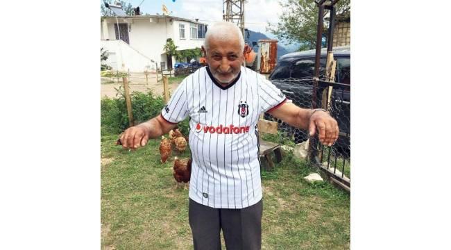 95'lik dedenin Beşiktaş aşkı