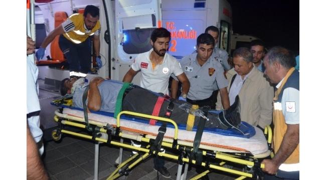AK Partili ilçe yöneticileri kaza yaptı: 4 yaralı