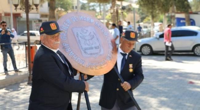 Akçakale'de Gaziler Günü kutlandı