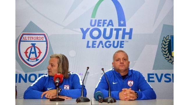 Altınordu ilk Avrupa maçında 5 attı