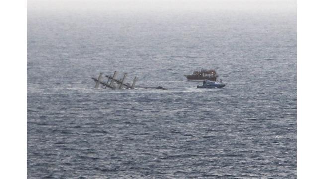 Antalya'da batan tekneyle ilgili 4 gözaltı
