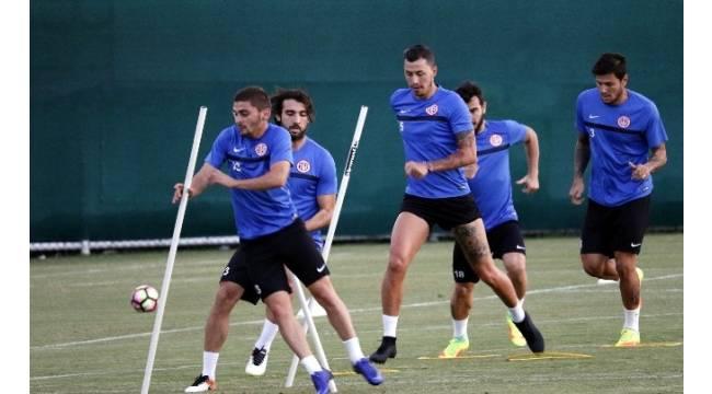 Antalyaspor, Galatasaray maçının hazırlıklarına başladı