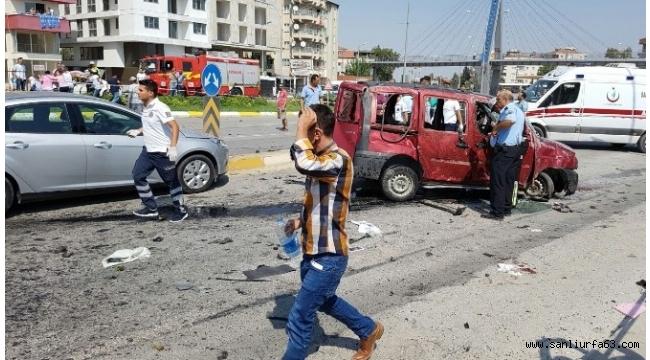 Araç karşı şeride geçti: 1 ölü, 7 yaralı