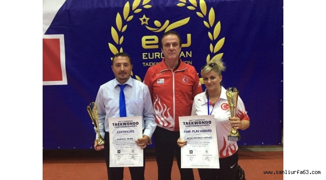 Avrupa Yıldızlar Taekwondo Şampiyonası'na Türkiye damgası