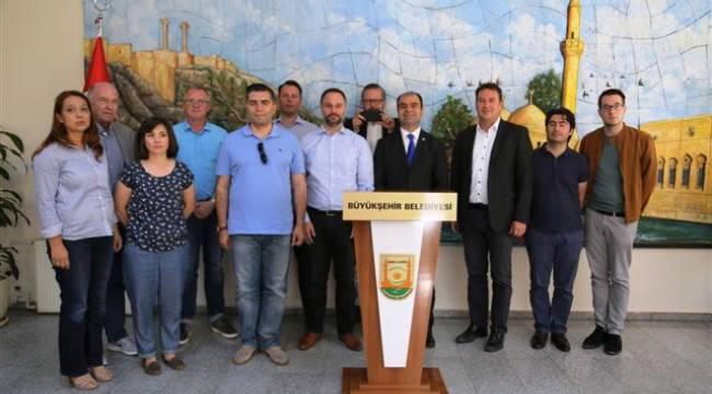 Avrupalı Türk Demokratlar Şanlıurfa'da