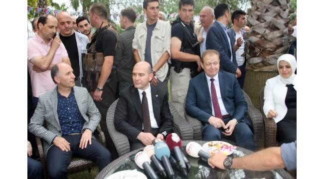 Bakan Soylu, Trabzonspor'un bayramlaşma törenine katıldı
