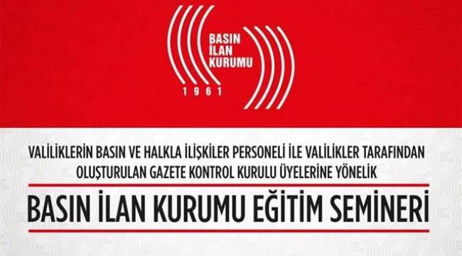Seminere Şanlıurfa'dan gazetecilerde katılıyor
