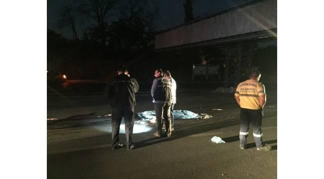 Başkent'te yol ortasında kadın cesedi bulundu