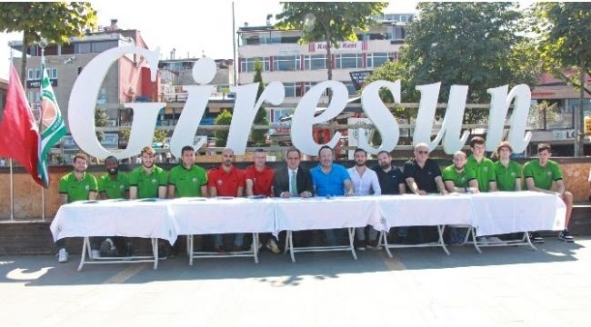 Basketbol'da Yeşilgiresun Belediye'nin hedefi Play-Off