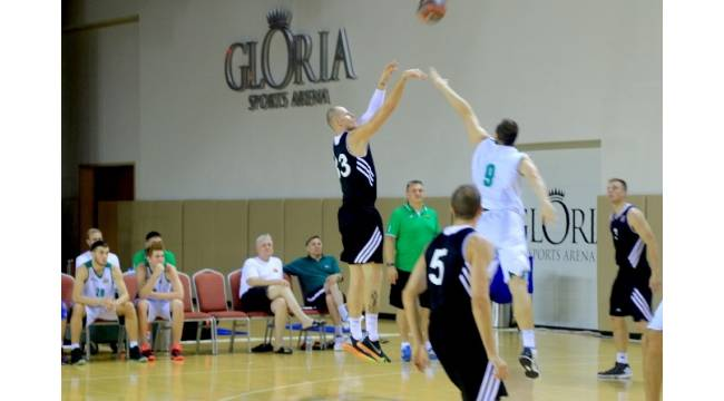 Basketbolun devleri Gloria Spor Arena'da buluşuyor