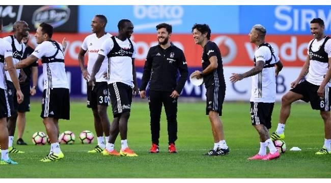 Beşiktaş, Akhisar Belediyespor maçı hazırlıklarını sürdürdü