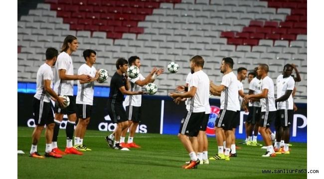 Beşiktaş, Benfica maçı hazırlıklarını tamamladı