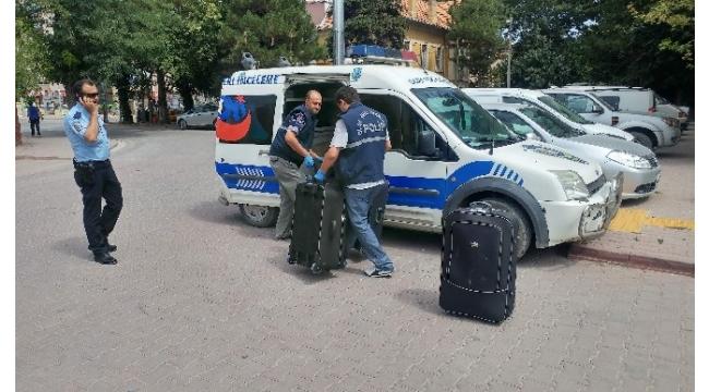 Bomba ihbarı yapılan trenden 15 kilo esrar çıktı