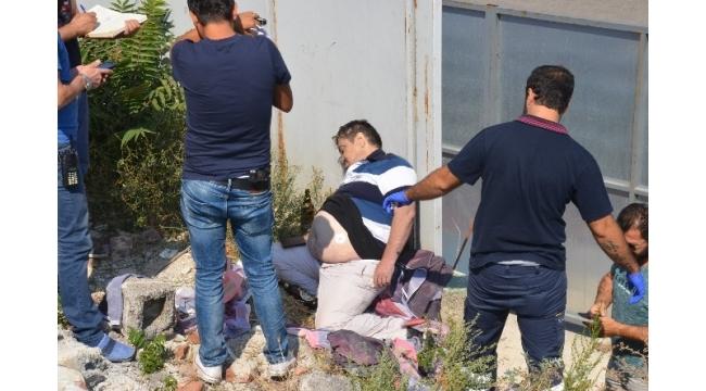 Bursa'da moloz yığınlarının arasında ceset bulundu
