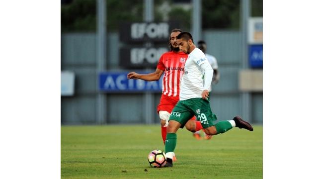 Bursaspor hazırlık maçında Balıkesirspor'u 3-1 yendi