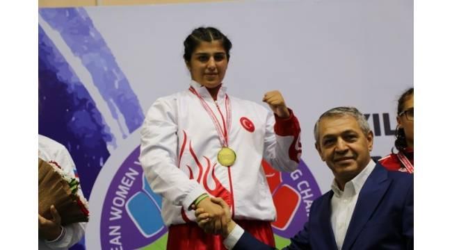 Busenaz Sürmeneli Avrupa Şampiyonu oldu