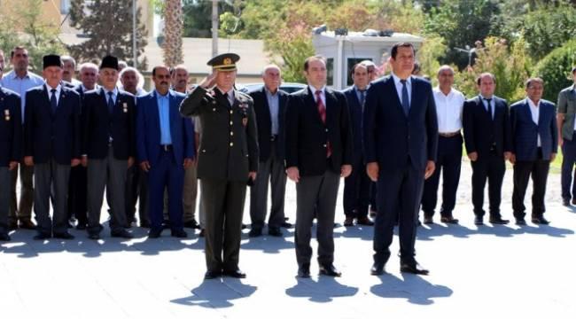 Ceylanpınar'da Gaziler Günü Törenle kutlandı