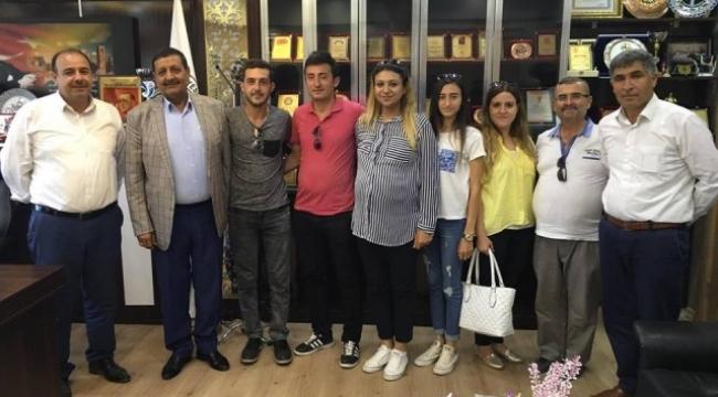 Çiçek Ortaokulu öğretmenlerinde Özyavuz'a ziyaret