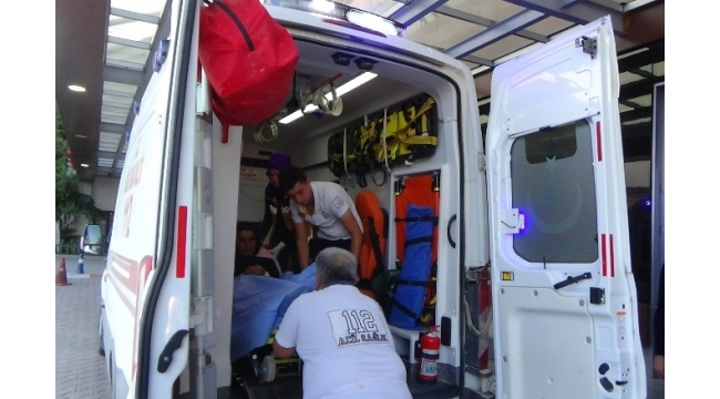 Çobanbey'de çatışmalarda yaralanarak Kilis'e getirilen 6 Suriyeli'den 1'i öldü