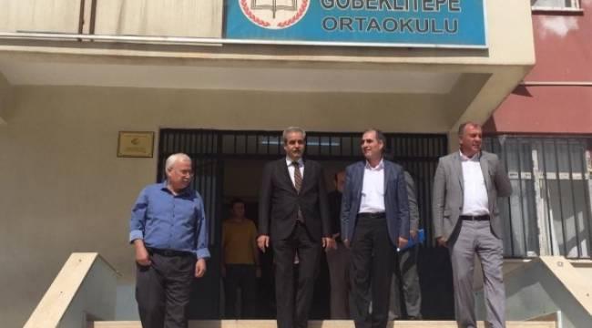 Demirkol, Göbeklitepe İlk Okulunu ziyaret etti
