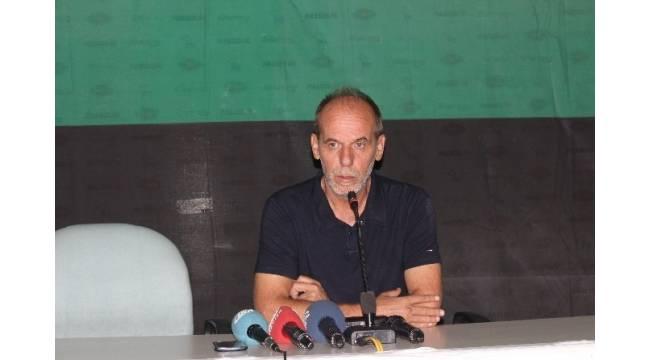 Denizlispor - Mersin İdmanyurdu maçının ardından
