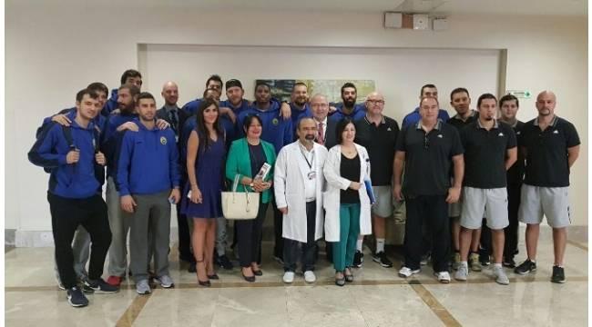 Dünya Kalp Gününde doktorlar ve sporcular bir araya geldi