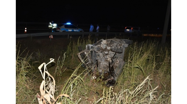 Erbaa'da trafik kazası: 5 yaralı