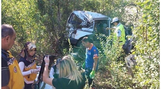 Erzincan'da trafik kazası: 4 ölü, 1 yaralı