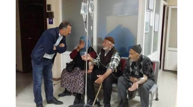 Erzurum'da düğün yemeğinden zehirlenen vatandaşlar hastaneye kaldırıldı