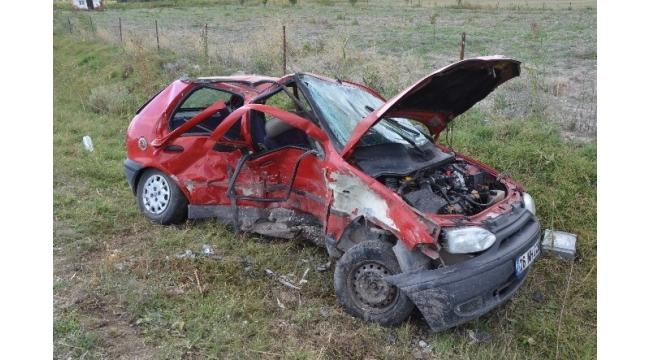 Eskişehir'de trafik kazası: 1 ölü, 6 yaralı