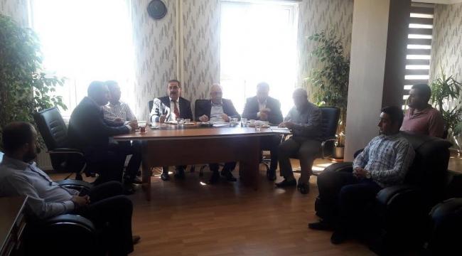 Fakıbaba'ya Urfa'daki ormancılık faaliyetleri anlatıldı
