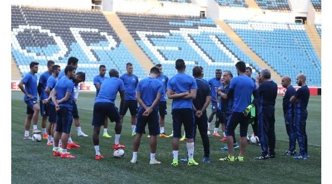Fenerbahçe, hazırlıklarını tamamladı