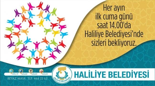 Haliliye'de Eylül ayı toplantısı gerçekleştirilecek