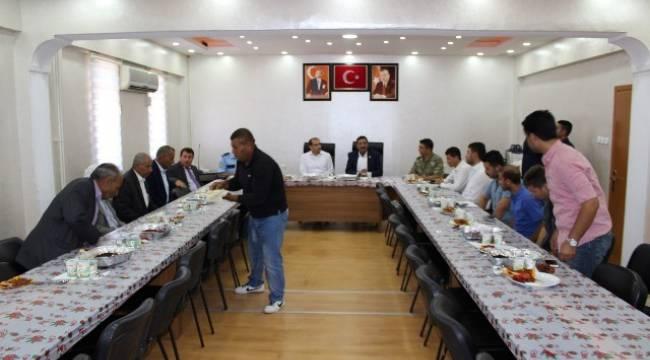 Harran'da Gaziler Unutulmadı