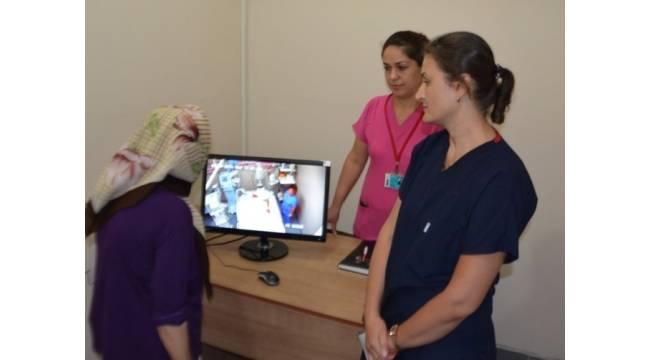 Hasta yakınlarından kameralı ziyaret