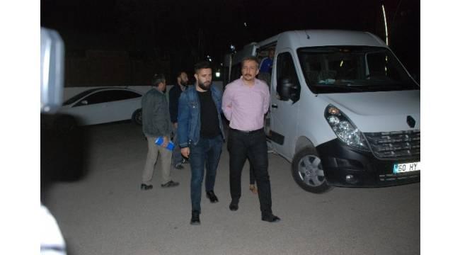 HDP Eş Genel Başkan Yardımcısı Altınörs, Tokat Adliyesi'ne sevk edildi