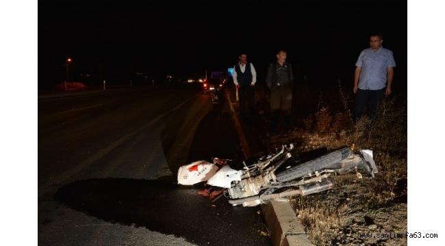İki arkadaşın yarışı kaza ile bitti: 1 ölü, 1 yaralı
