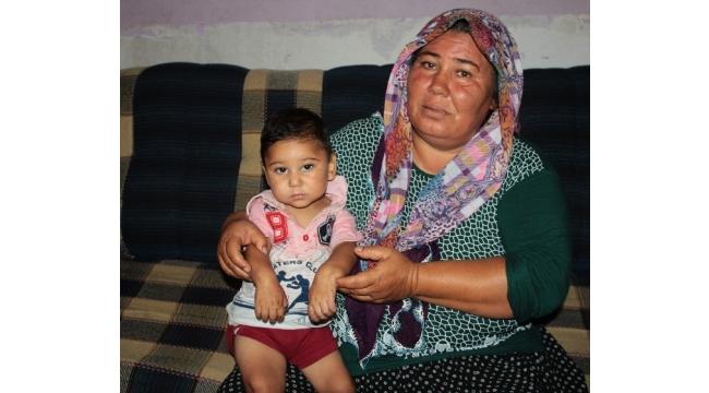 Isırarak kendine zarar veren bebeğin ailesi yardım istedi