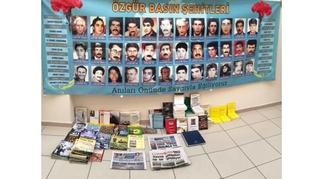İzmir'de dergiye terör baskını