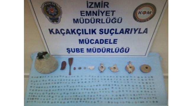 İzmir'de Türkiye'nin en büyük tarihi eser operasyonu