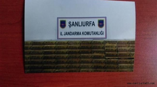 Jandarma'dan kaçak sigara operasyonu