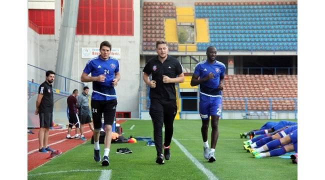Karabükspor'da Antalyaspor maçı hazırlıkları sürüyor
