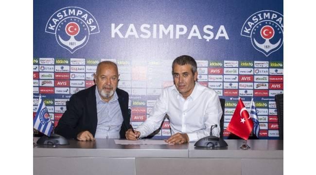 Kasımpaşa'nın yeni teknik direktörü Kemal Özdeş oldu